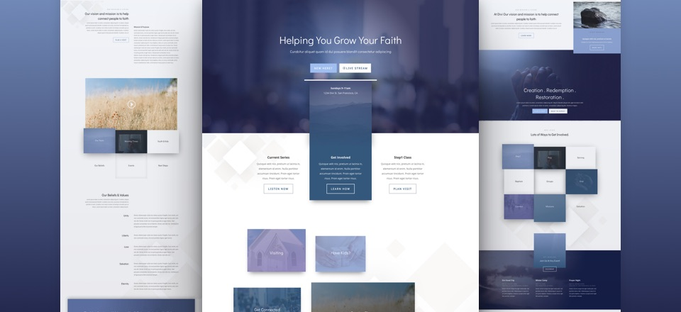 divi theme pack