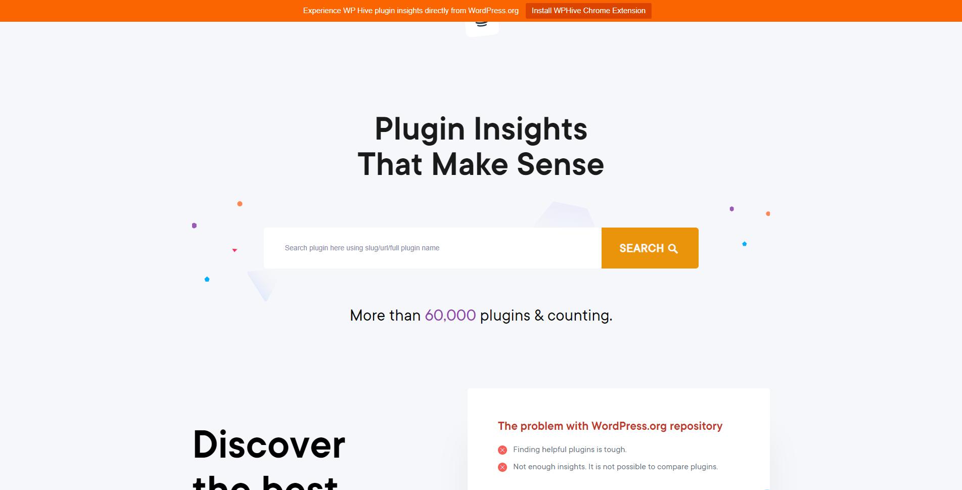 wp hive plugin search engine