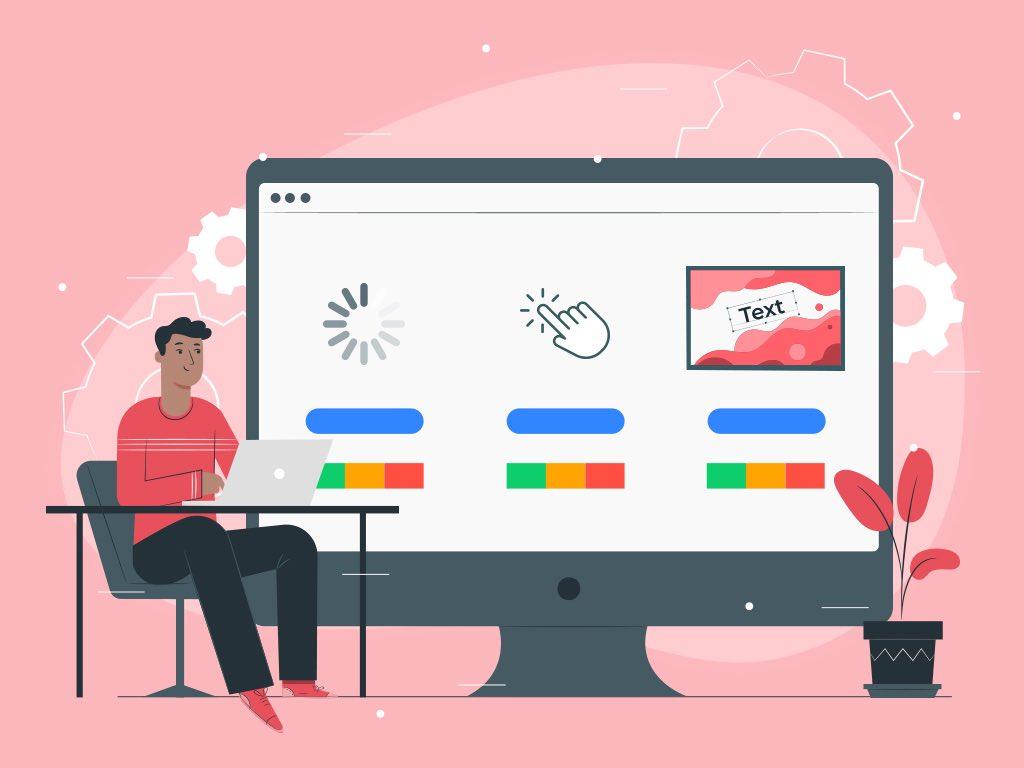 Google core web vitals measure