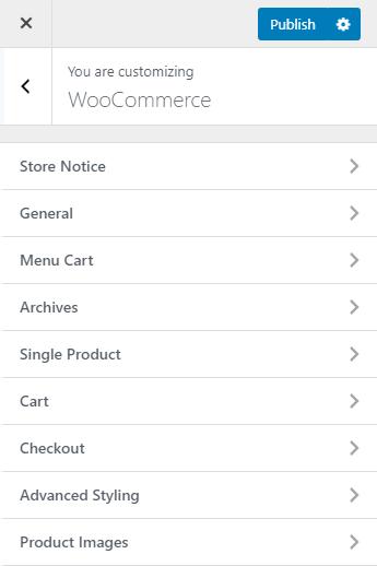 oceanWP theme woocommerce customizations