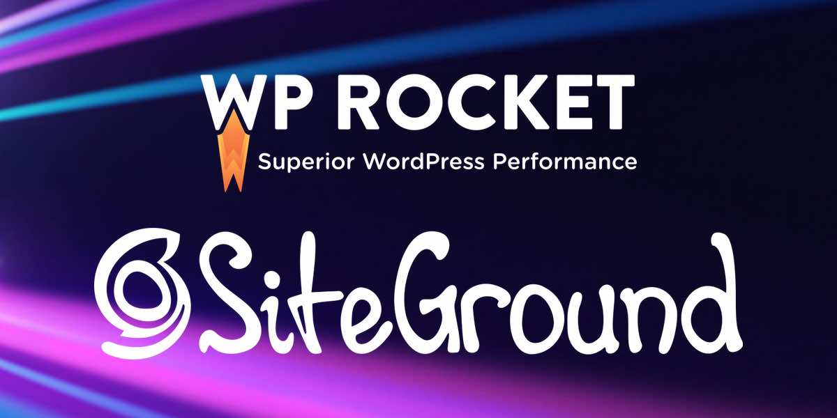wp rocket with SG