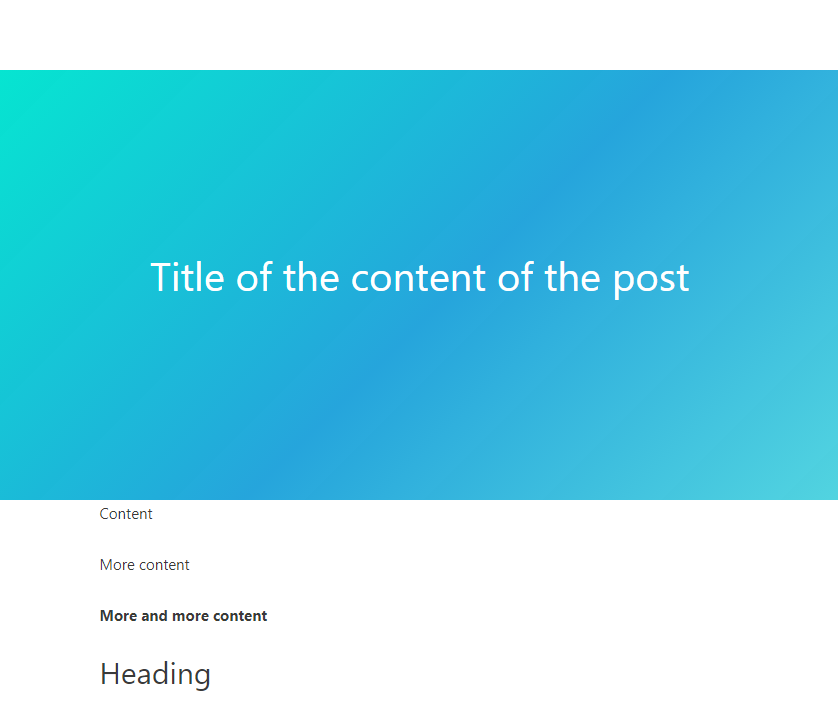 Page with title disabled with Astra