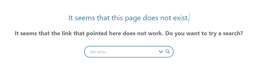 ideal 404 for dynamic content