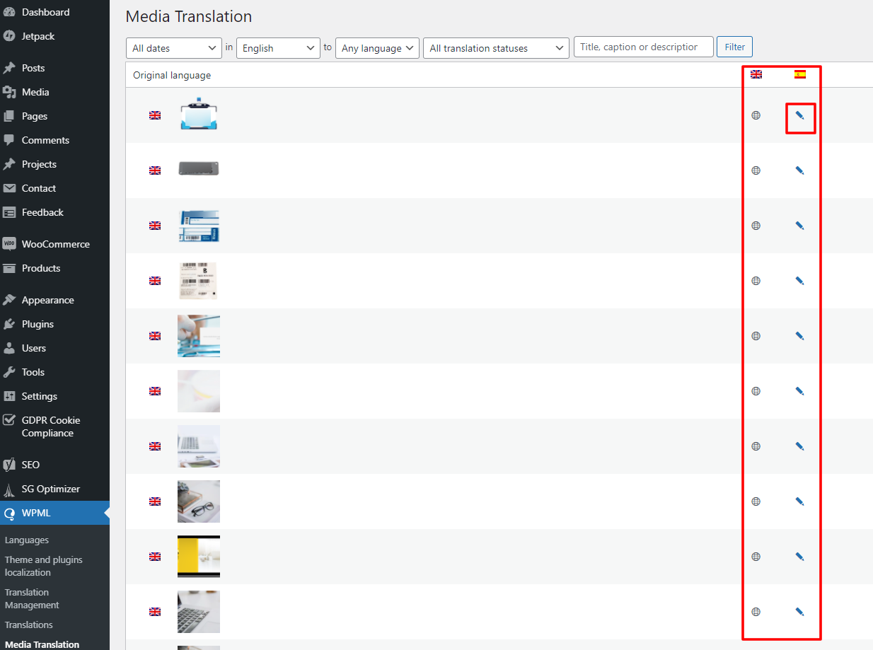 WPML media translation access